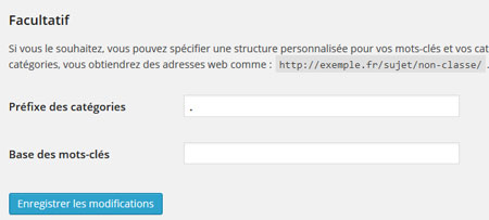 supprimer /category/ wordpress